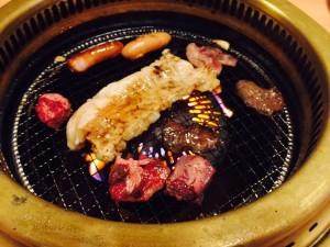 大学生 焼き肉