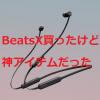 『BeatsX』レビュー/知識も収入も健康も恵んでくれる神ツール